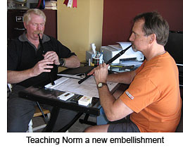 Teaching Norm a new embellishment