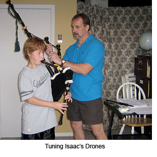 Tuning Isaac's Drones